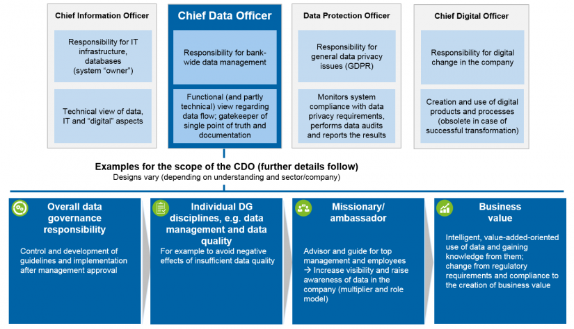 Figure 2: Chief data officer—definition of terms