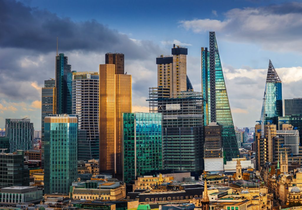 London skyline in zeb.market flash (Issue 28 – January 2019)