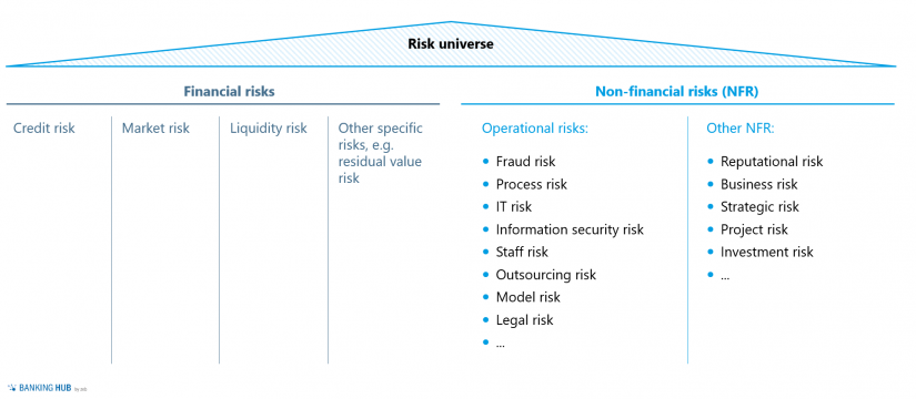 """Examples of specific NFR in the article """"Effectively managing non-financial risks (NFR)"""""""