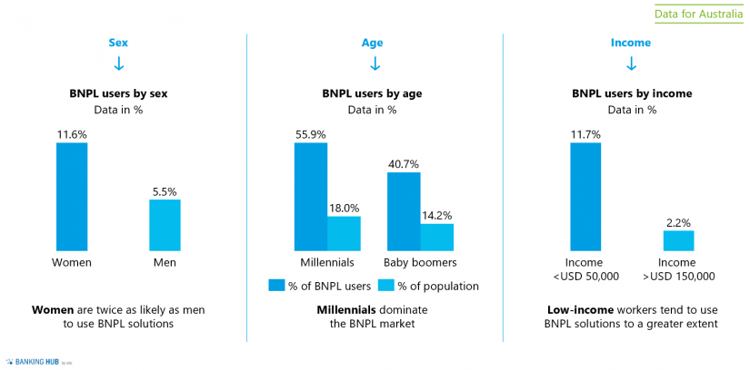 BNPL – buy now, pay later: user characteristics
